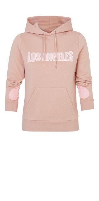 Snapiz light pink sweatshirt pink.