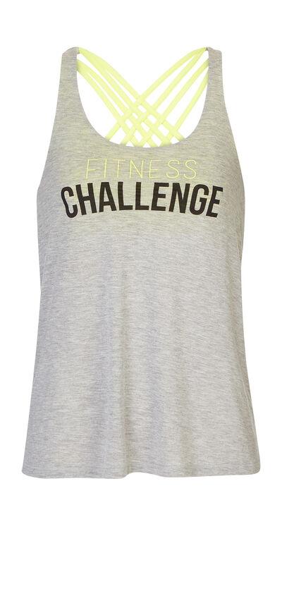 Triz grey sports top;${refinementColor}