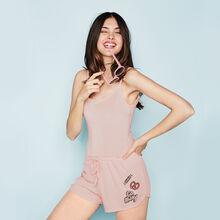 Granitiz pink shorts pink.