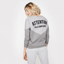 Sweat gris dancewiz grey.