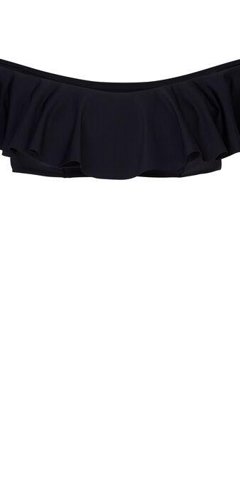 Haut de maillot de bain noir citroniz black.