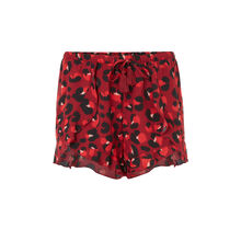 Veronciz burgundy shorts red.