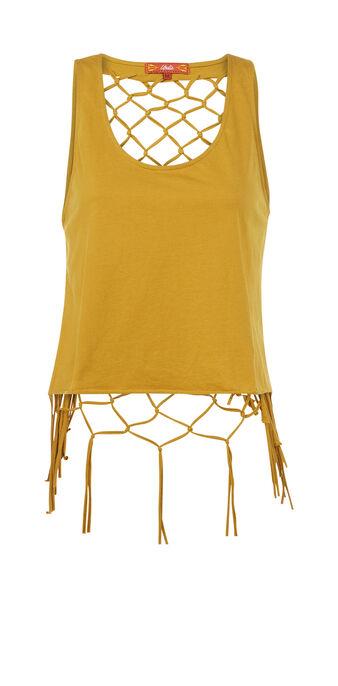 Top jaune moutarde redeliz yellow.