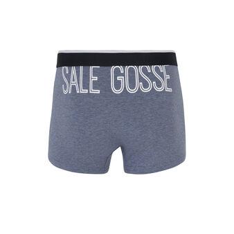 Assiettevidiz grey boxer shorts grey.