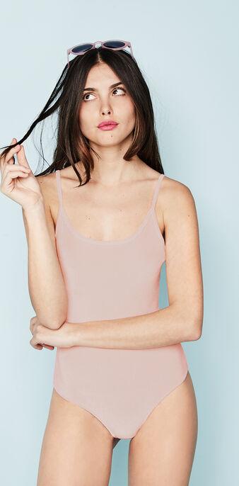 Body rose pâle velvetiz pink.