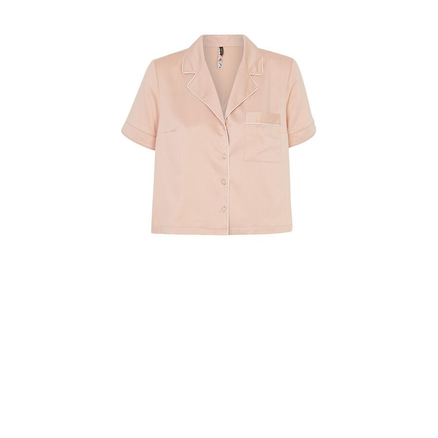 Top rose corail pyjamiz;${refinementColor}