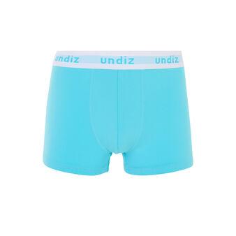 Zestiz sky blue boxers blue.