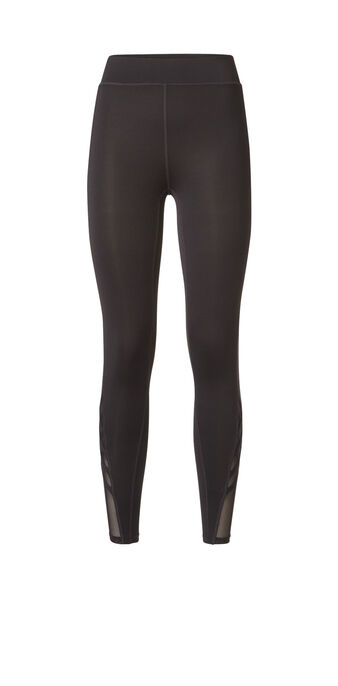 Missiz black sports leggings black.
