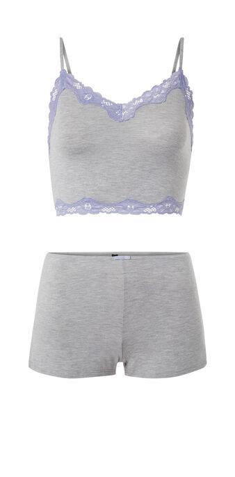 Versatiz grey pyjama set grey.