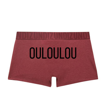 Boxer bordeaux ouloulouiz  red.