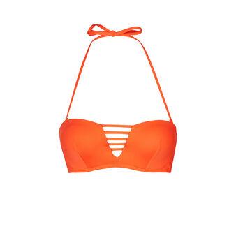 Parte de arriba de bikini naranja tahitiz orange.