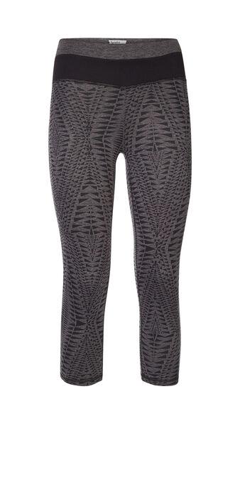 Legging de sport gris foncé triangliz grey.