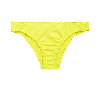 Bas de maillot de bain jaune froufrouiz yellow.
