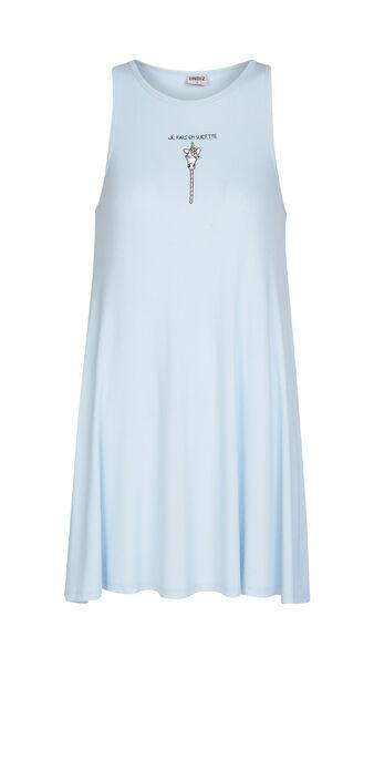 Robe bleue jepariz blue.