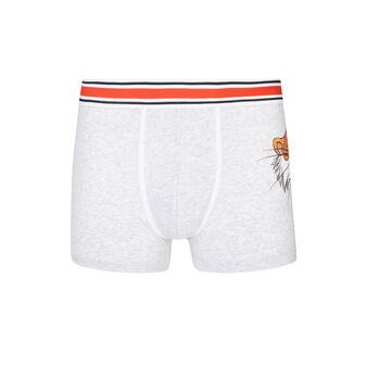 Jungeliz grey boxer shorts grey.