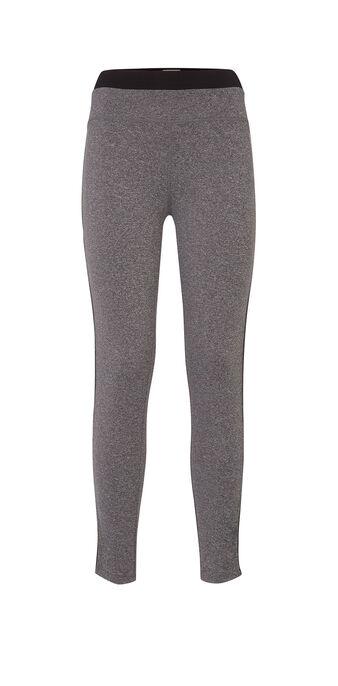 Muscliz dark grey sports leggings grey.