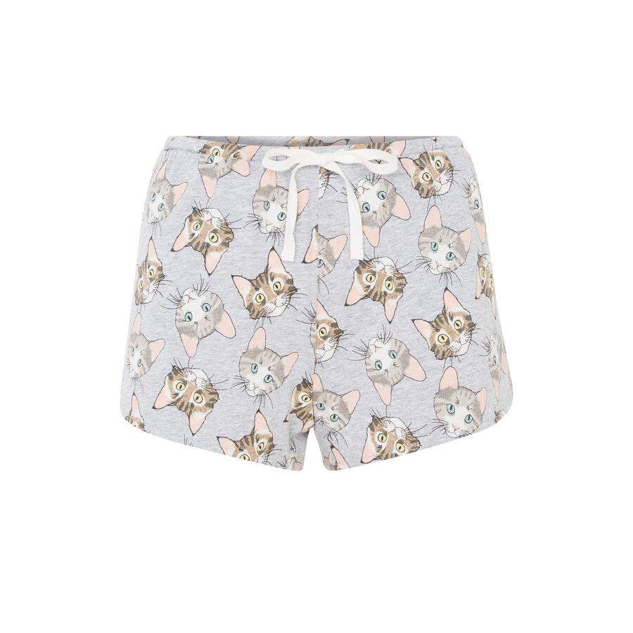 Minicathiz grey shorts;${refinementColor}