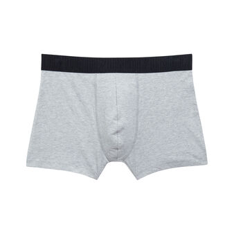Superbossiz light grey boxers grey.