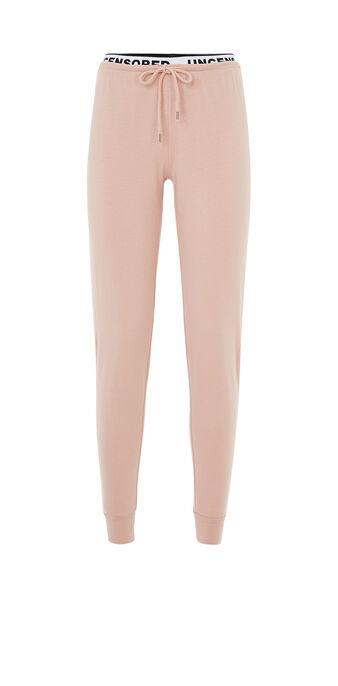 Pantalon rose clair unvailiz pink.