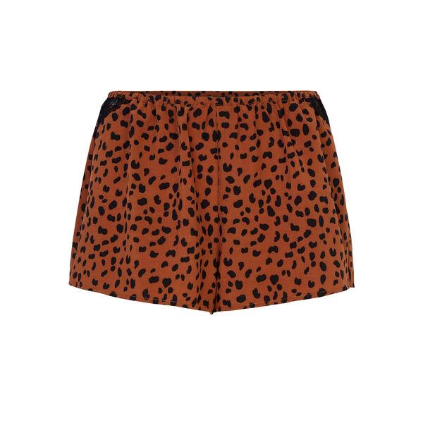 Tachetiz brown shorts;${refinementColor}