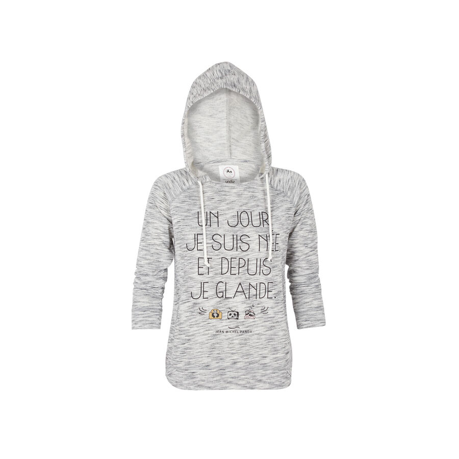 Sweat gris clair glandaniz;${refinementColor}