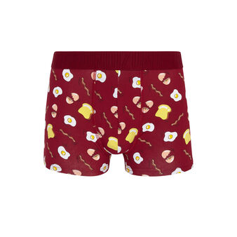 Auplatiz red boxer shorts red.