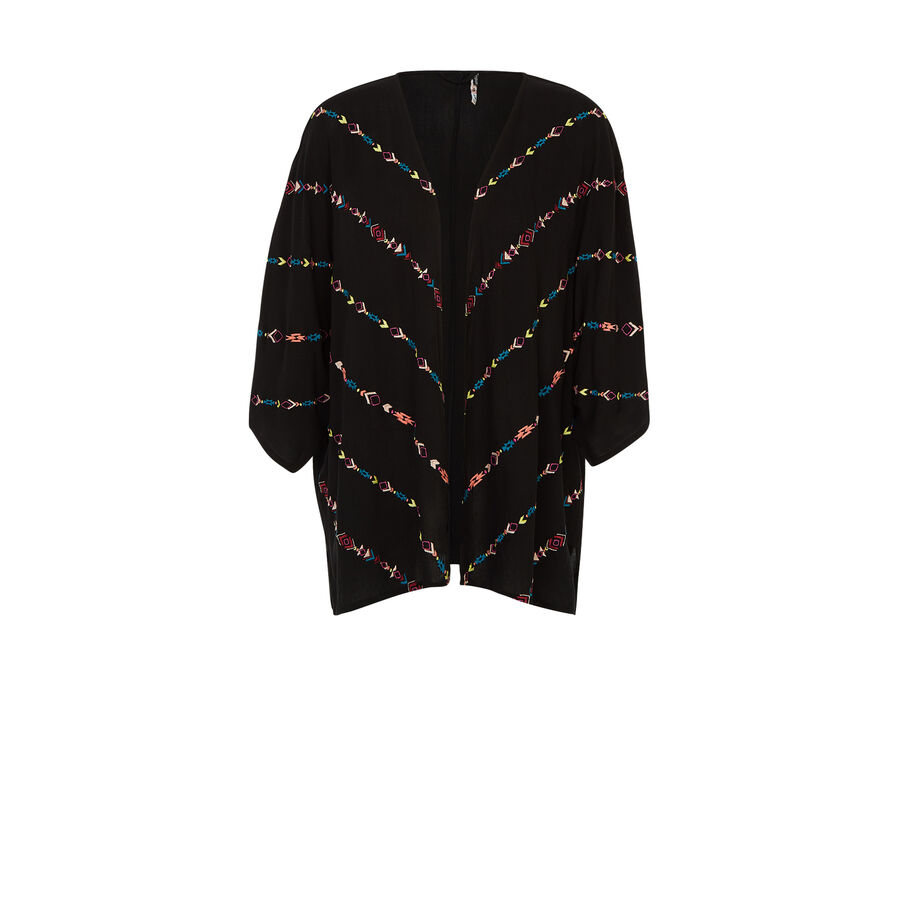 Kimono noir wofreepiz;${refinementColor}
