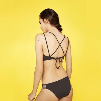 Timbriz black bikini top black.