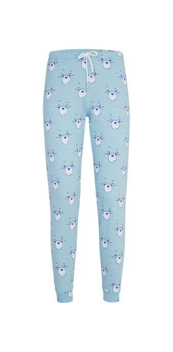Pantalon bleu bisouniz  blue.