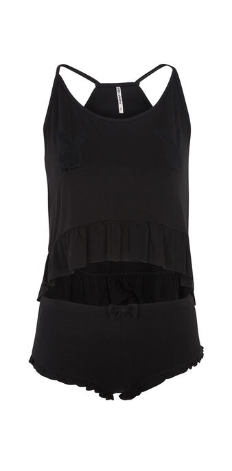 Ensemble de pyjama noir minipanliz black.