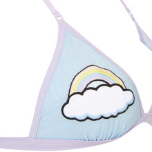 Soutien gorge triangle bleu nuagiz blue.