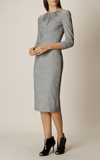 Karen Millen, TAILORED DRESS Grey 2