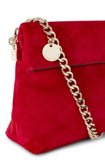 Karen Millen, MINI SHOULDER BAG Red 5