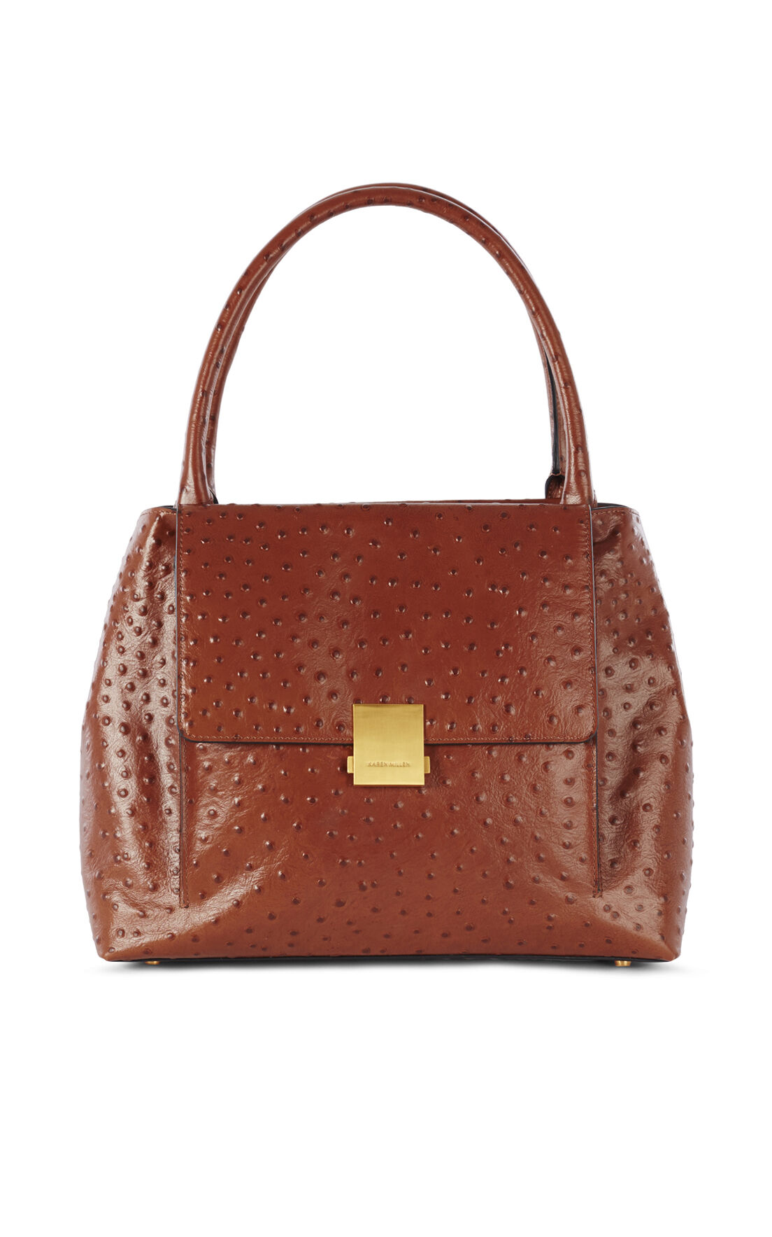 Karen Millen, OSTRICH EMBOSSED BAG Tan 0