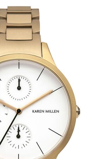 Karen Millen, GOLD MINIMAL CHAIN WATCH Gold Colour 1