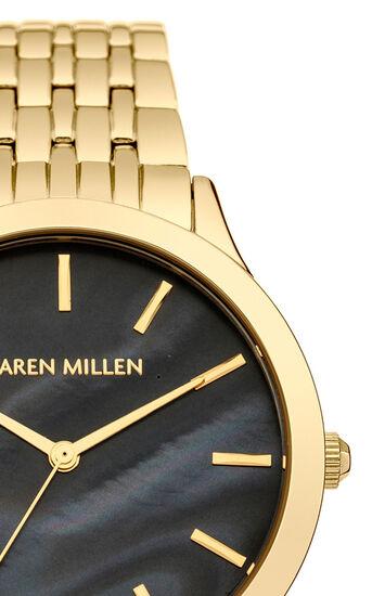 Karen Millen, Solid steel boyfriend style wa Gold Col 3