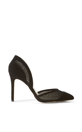 Karen Millen, MESH STILETTO Black 0