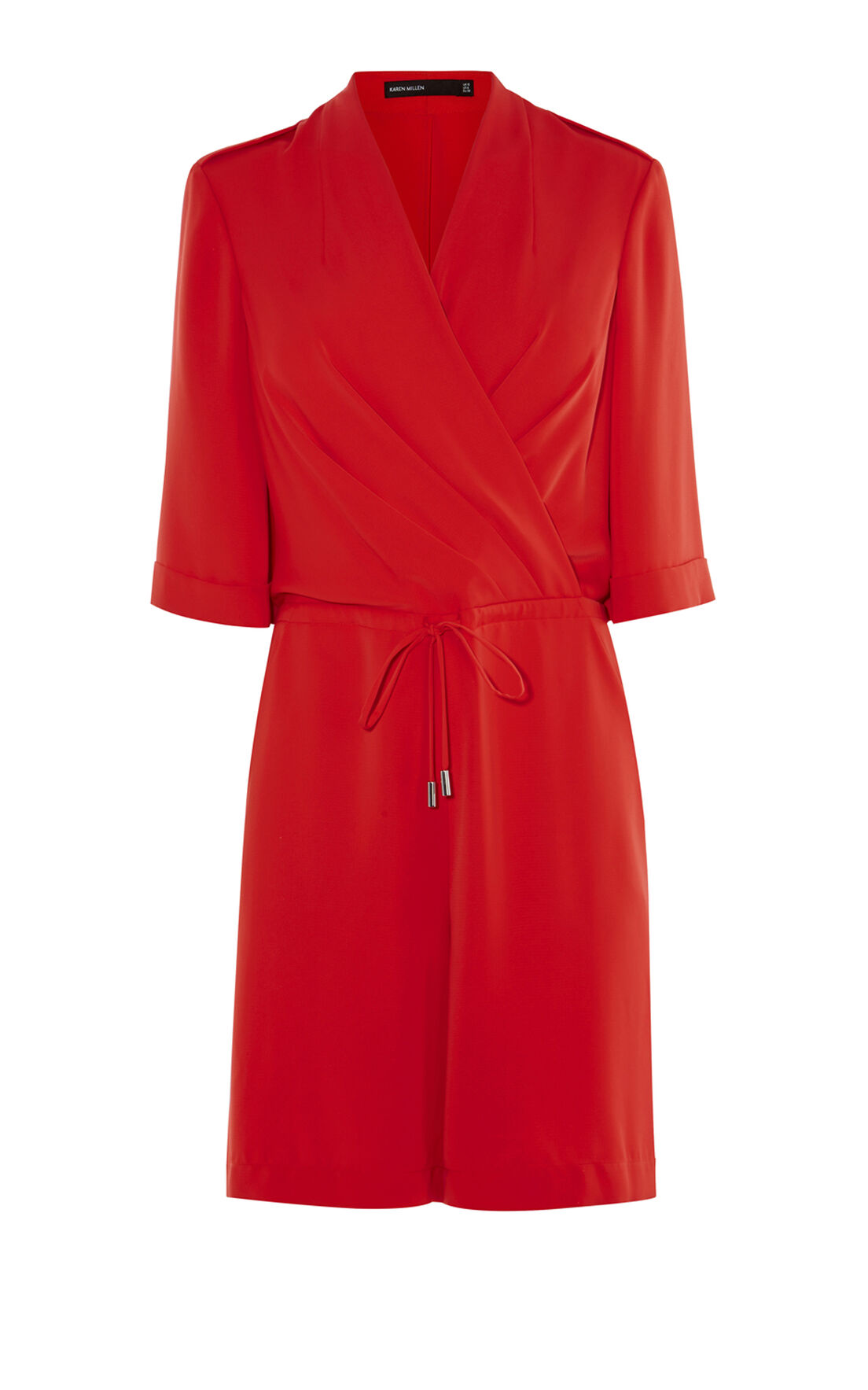 Karen Millen, RED PLAYSUIT Red 0