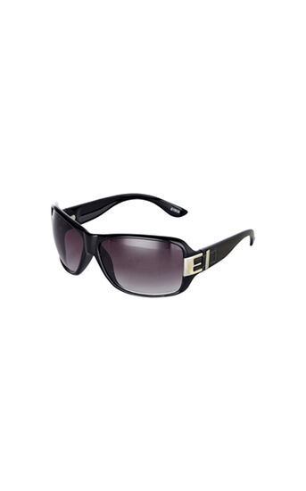 Karen Millen, BLACK BUCKLE DETAIL SUNGLASSES Black 0