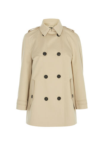 Karen Millen, SWING TRENCH COAT Neutral 0