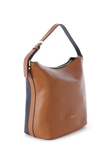 Karen Millen, BROWN LEATHER SLING BAG Multi 3