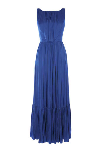 Karen Millen, FLUID MAXI DRESS Navy 0