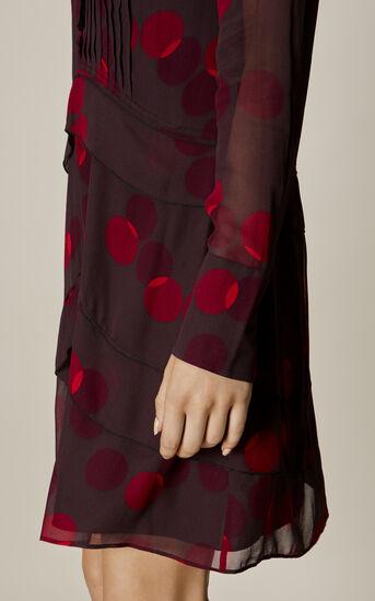 Karen Millen, GEO-PRINT SHIRT DRESS Multicolour 4