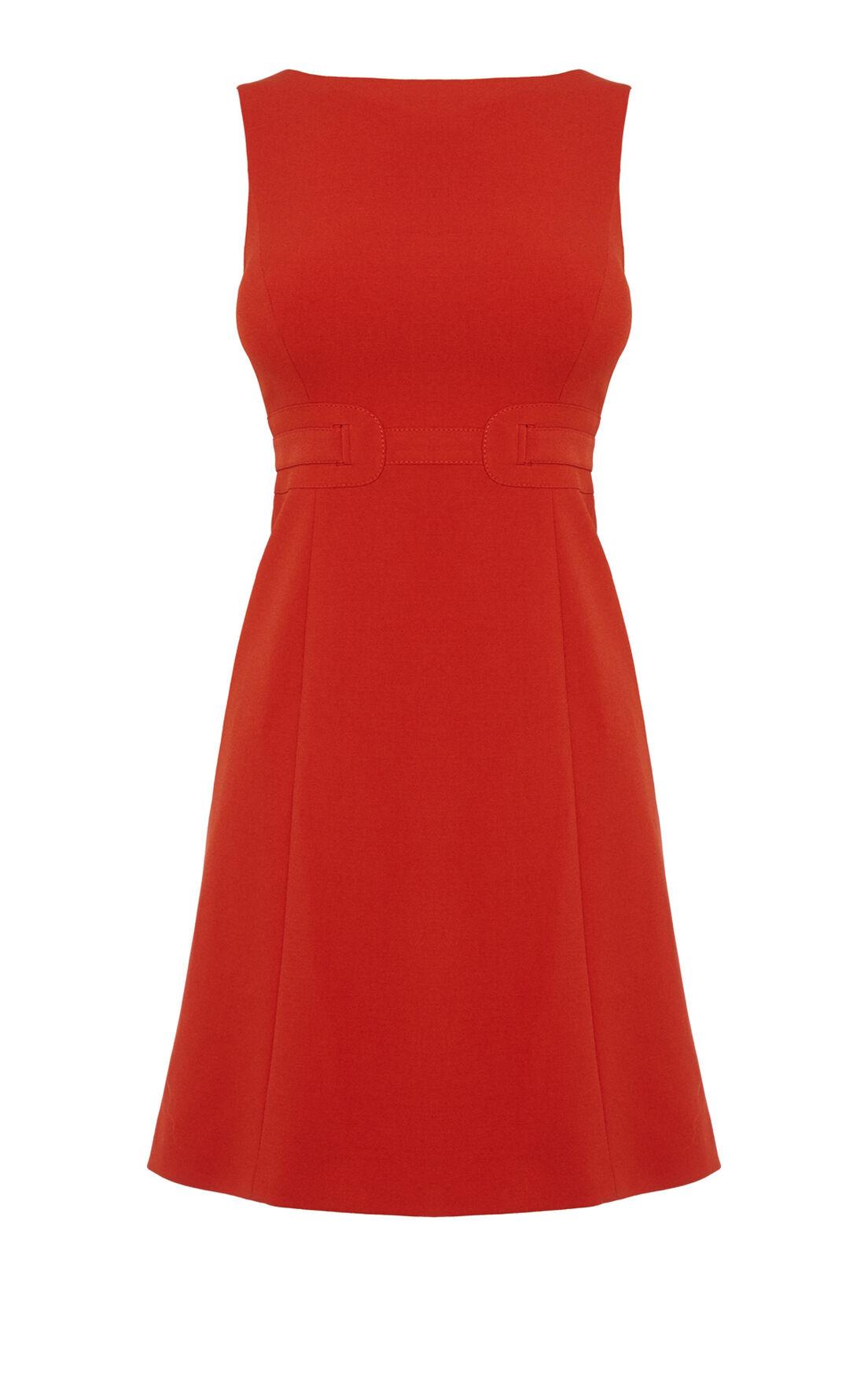 Karen Millen, COLOURFUL MINI DRESS Orange 0