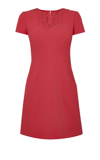 Karen Millen, PINK MINI DRESS Pink 0
