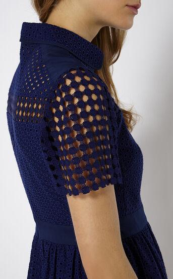 Karen Millen, BRODERIE DRESS Blue 4