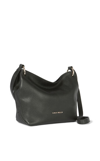 Karen Millen, SOFT SLOUCH BAG Black 3