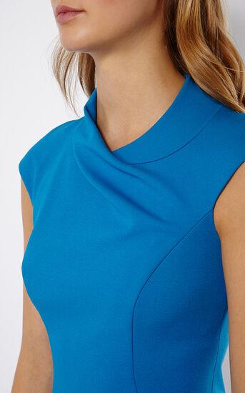 Karen Millen, BLUE PENCIL DRESS Blue 4