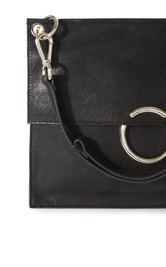 Karen Millen, O RING SHOULDER BAG Black 5