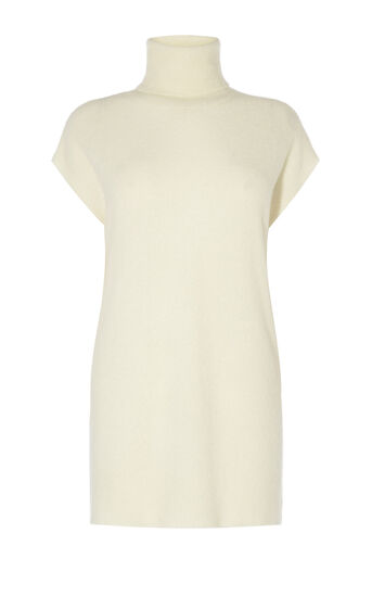 Karen Millen, BOUCLETTE KNIT DRESS Ivory 0